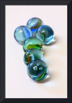 Coloured Glass Marbles