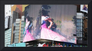 Melodrama in Times Square, New York