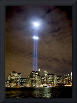 Tribute in Light on September 11 over NYC