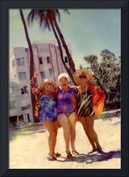 The Girls day at the Miami Beach