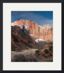 The West Temple, Zion National Park by Dave Wilson