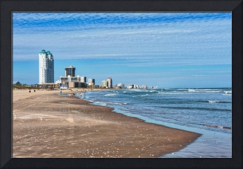 South Padre Island skyline