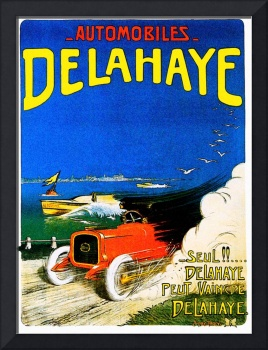 Delahaye Automobiles ~ Vintage Auto Advertisement