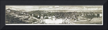 San Francisco California Panoramic Map