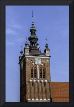 Clock Tower, Gdansk, Poland.