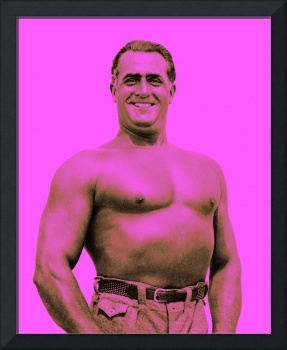 Charles Atlas in Magenta