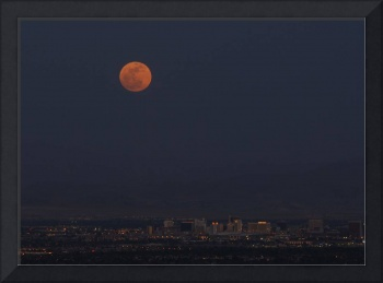 Supermoon Las Vegas