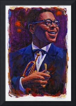 Dizzy Gillespie in Purple and Blue