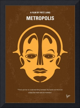 No052 My Metropolis minimal movie poster