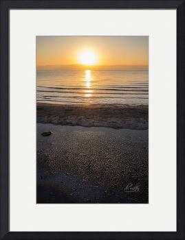 Sunrise Over the Sea of Galilee by D. Brent Walton
