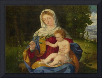 Andrea Previtali - The Virgin and Child with a Sho
