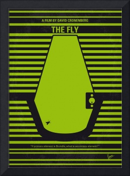 No991 My THE FLY minimal movie poster