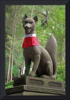 Kitsune Statue, Inari Shrine 2007
