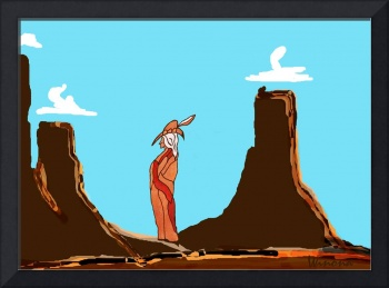 Shaman of Monument Valley