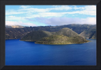 Lake Cuicocha Crater Lake