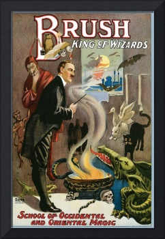 Brush - King of Wizards Occidental Oriental Magic