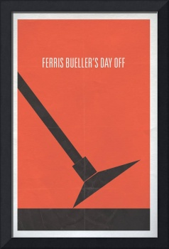 Ferris Bueller's Day Off minimalist movie poster