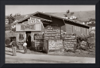 Oakland Hills Real Estate Office c1940