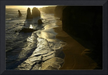 Sunset on the Twelve Apostles