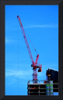 Photograph of a Crane on Light Street