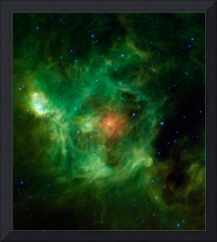 Stellar Nursery in Green