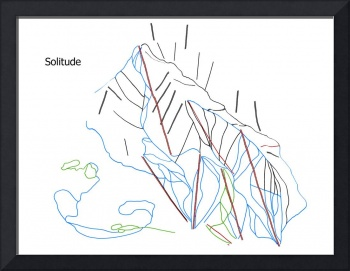 Solitude Trail Map