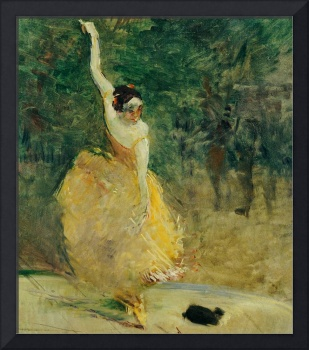 The Spanish Dancer, 1888 (oil on canvas)