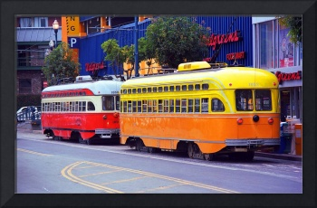 San Francisco Trolley Cars