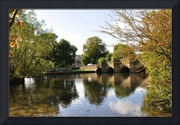 Bakewell Bridge and The River Wye (20661-RDB)
