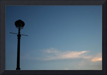 Lamp Post on Greeland Dock