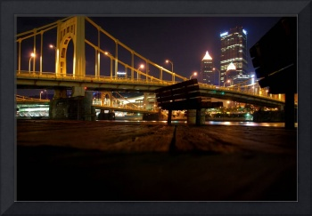 Pittsburgh from Down by the River