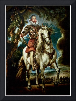Equestrian Portrait of the Duke of Lerma (1603)
