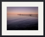 Fishing Pier, Fulton, Texas III by Dave Wilson