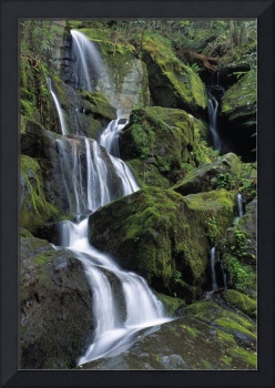 Thousand Drips Waterfall, Great Smoky Mountains Na
