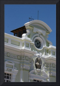 Clock and Weather Vane