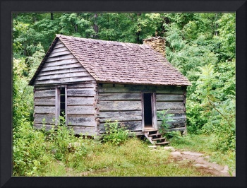 Small Cabin on Roaring Fork Motor Trail