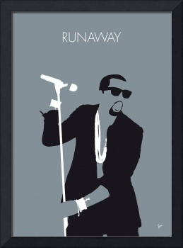 No157 MY Kanye West Minimal Music poster