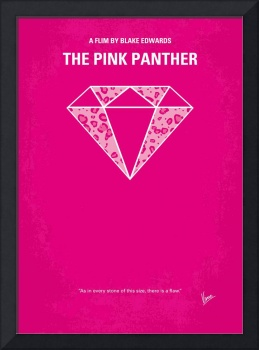 No063 My Pink Panther minimal movie poster