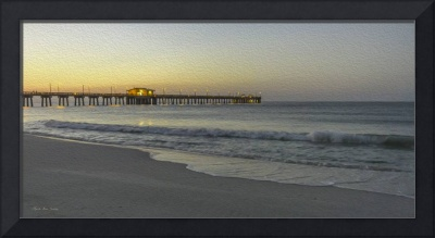 Gulf Shores Alabama Fishing Pier Painting A82518