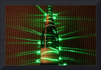 Champagne Laser Effect