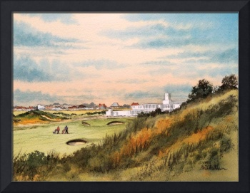 Royal Birkdale Golf Course 18th Hole