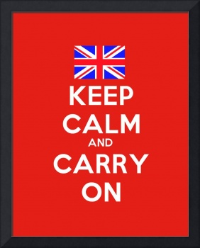 Keep Calm And Carry On, Motivational Poster 5