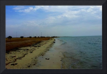 The beautiful Yanbu Beach in Saudi Arabia