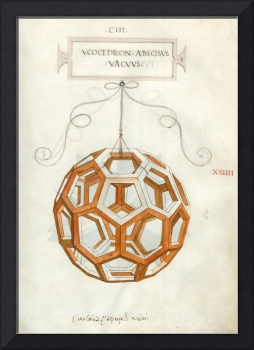 Truncated icosahedron by Da Vinci