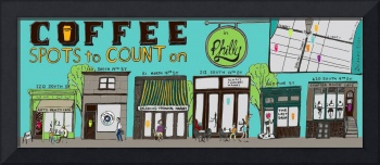 Coffee Shops to Count on by Teresa Bonaddio