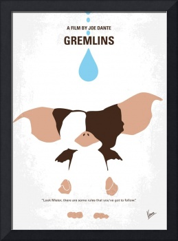 No451 My Gremlins minimal movie poster