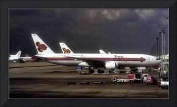 Thai New Boeing-777 on The King's 72nd Birthday