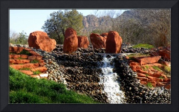 MB Fountain Sedona Fountain