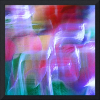 Mystic Color Abstract Square #6