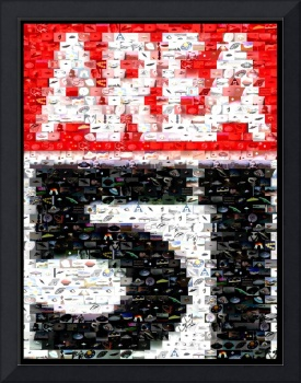 Area 51 Sign...Amazing Montage Mosaic illusion pop